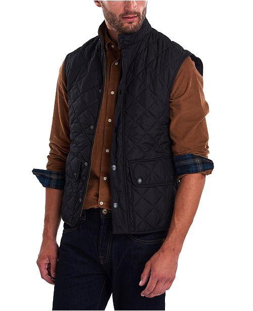 Barbour Men's Lowerdale Quilted Vest & Reviews - Sweaters - Men .