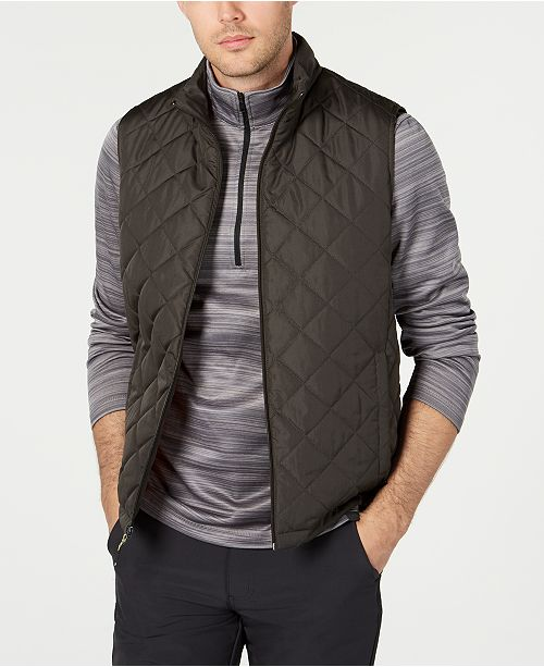 Hawke & Co. Outfitter Men's Quilted Vest & Reviews - Coats .