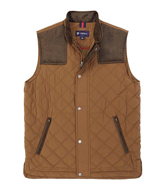 Cremieux Martin Brushed Quilted Vest   Dillard