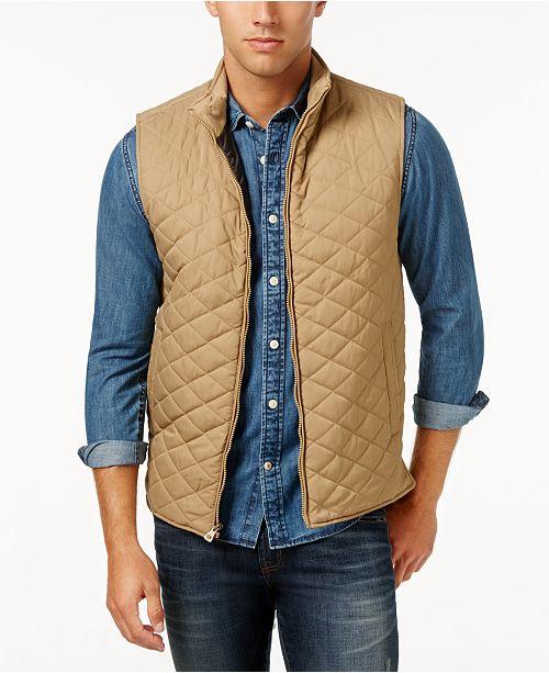 Weatherproof Vintage Men's Quilted Vest, Classic Fit & Reviews .
