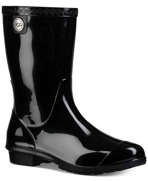 UGG® Women's Sienna Mid Calf Rain Boots & Reviews - Boots .