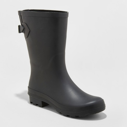 Women's Vicki Mid Calf Rain Boots - A New Day™ : Targ