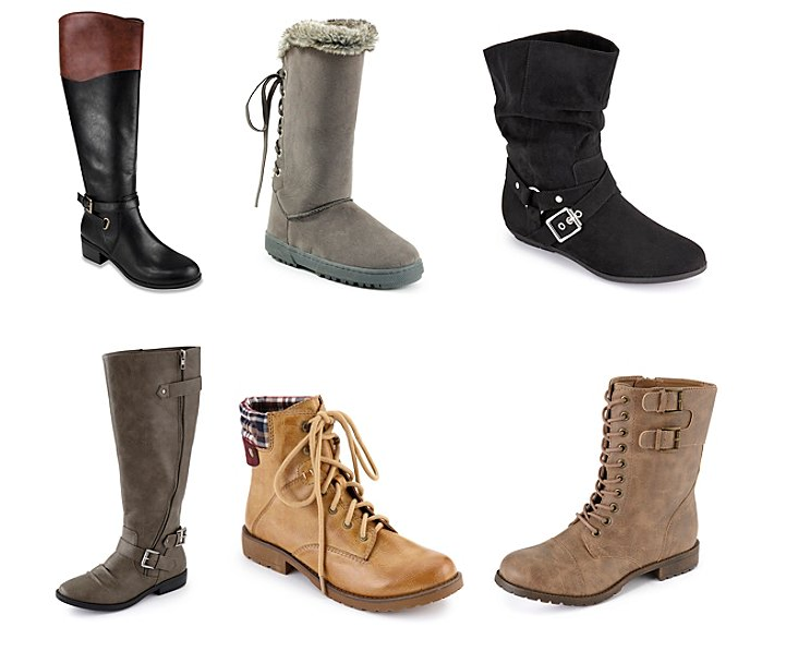 HOT* Bon-Ton: Women's Rampage Boots for $19.99, Dozens More for .