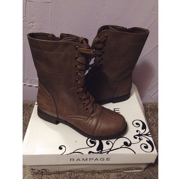 Rampage Shoes | Combat Boots | Poshma