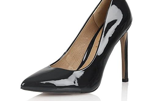 Ravel - Black Court Shoes - San Antonio - RLS 497 : 5 (Eu 38 .