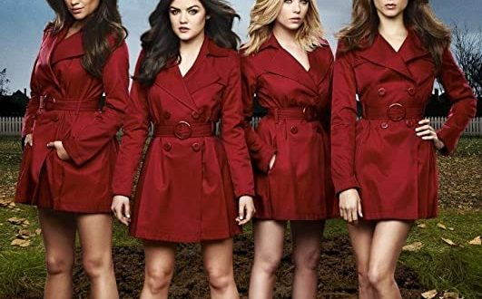 Amazon.com: Pretty Little Liars - Red Coats Poster 24 x 36in .