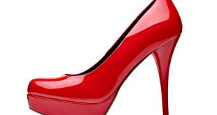 red high heel shoes Wall Mural • Pixers® - We live to chan