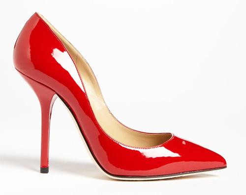 Dolce & Gabbana red patent high heel pumps > Shoeperwom