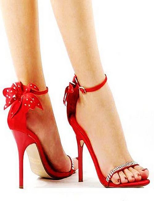 Latest Designed Long Heel Shoes 2012-2013   Red high heels, Heels .