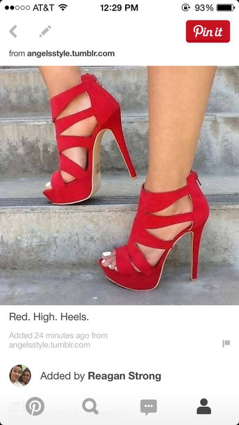 shoes, red, heels, high heels, prom, prom shoes, red high heels .