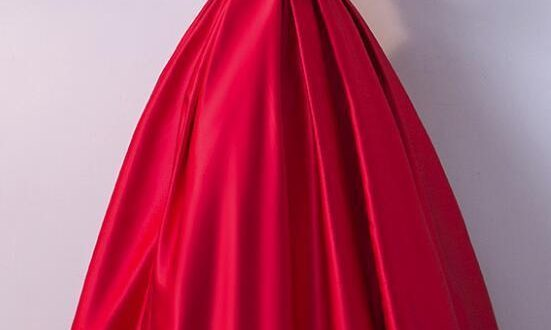 Pretty Red Party Dresses, Red Formal | BeMyBridesma