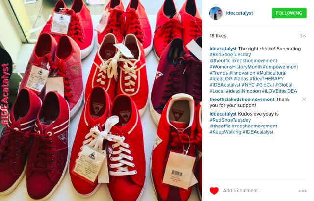 Meaning of the Red Shoes for The Red Shoe Moveme