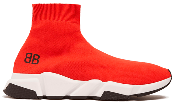 Order New Balenciaga Speed Trainers Mid Red shoes onli