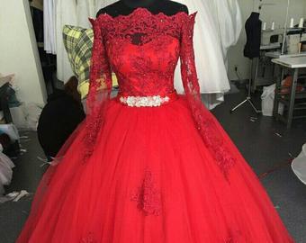 Red wedding dress | Et