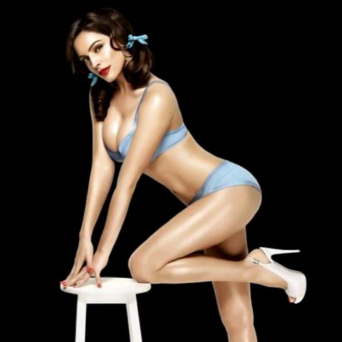 Kelly's retro lingerie shoot and more fashion news! - Rediff Getahe