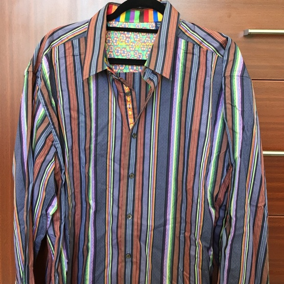 Robert Graham Shirts | Mens 2 Xl Button Down Shirt | Poshma