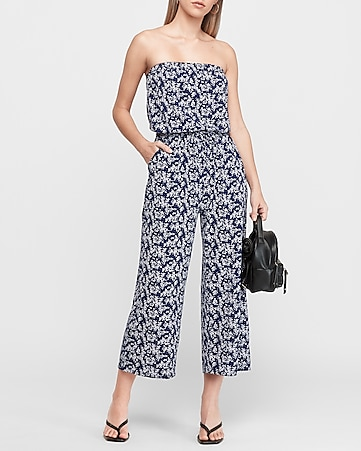 Women's Jumpsuits & Rompers - White, Black & Dressy - Expre