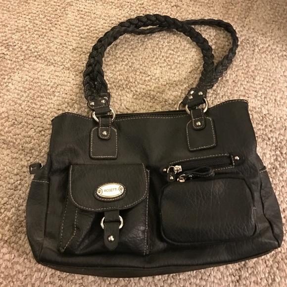 Rosetti Bags   Black Leather Purse   Poshma