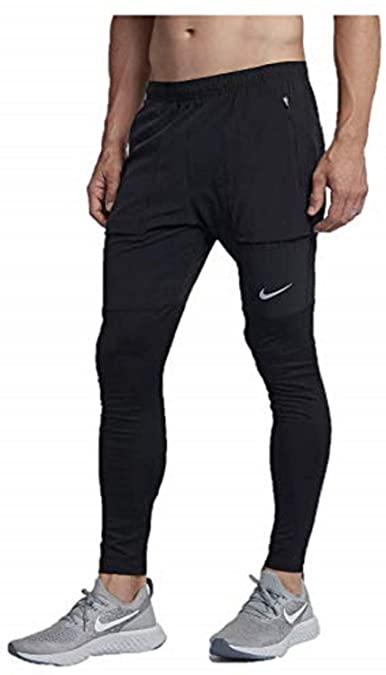 Amazon.com: NIKE Men's Essential Hybrid Running Pants (Black, XL .