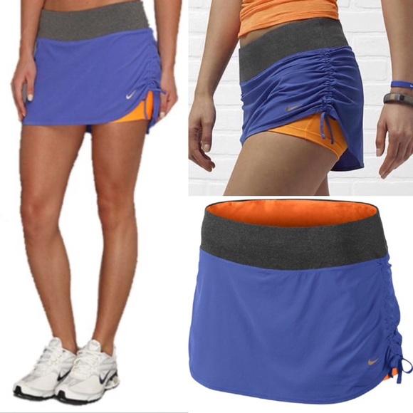 Nike Skirts | Rivals Stretch Woven Running Skirt Purple M | Poshma