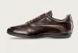 Santoni Shoes Pike Baby Calfskin Sneakers | MensDesignerShoe.c