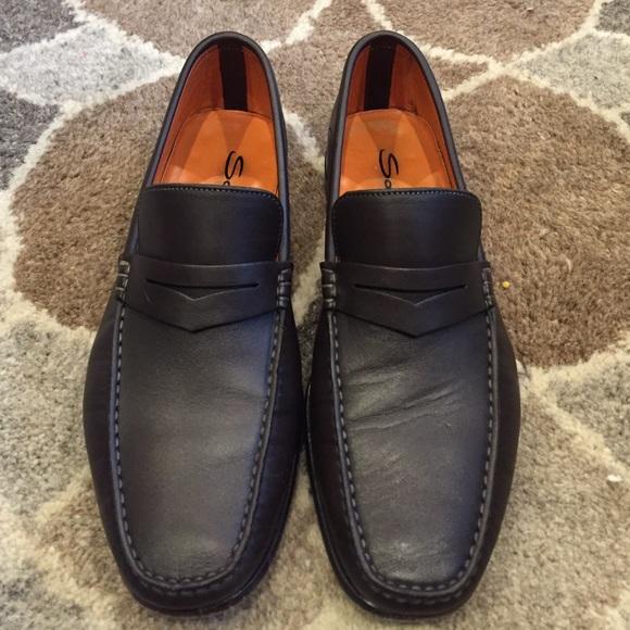 Santoni Shoes | Mens Austin Loafer | Poshma