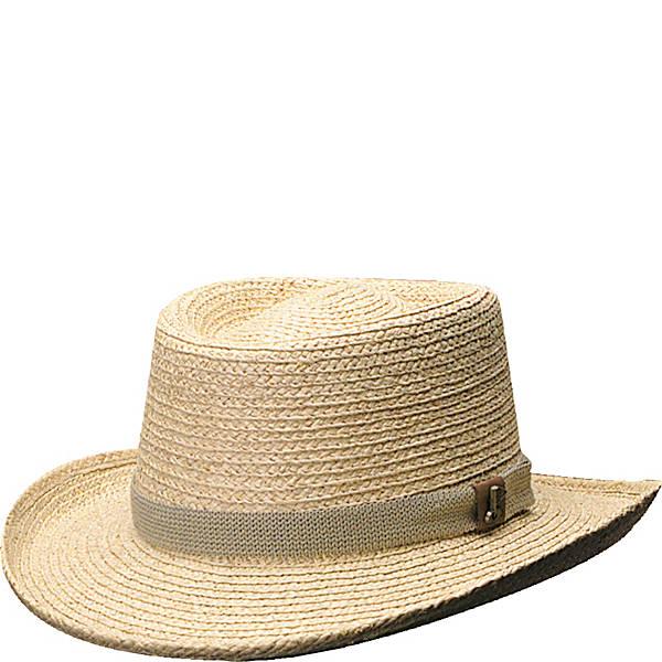 Scala Hats Raffia Gambler - eBags.c