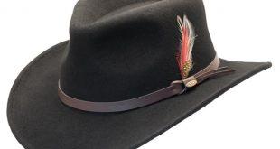 Scala   Crushable Wool Felt Outback Hat   Hats Unlimit