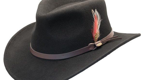 Scala | Crushable Wool Felt Outback Hat | Hats Unlimit