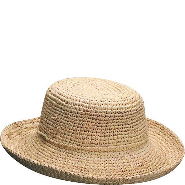 Scala Hats Women's Crocheted Raffia - eBags.c