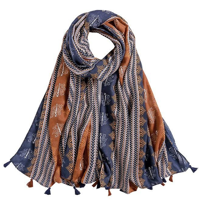 Women's Festival Autumn Winter Scarves for Shawls and | RebelsMark