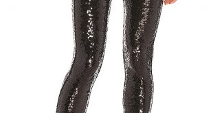 Commando Sequin Leggings in Black | REVOL