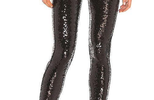 Commando Sequin Leggings in Black | REVOL