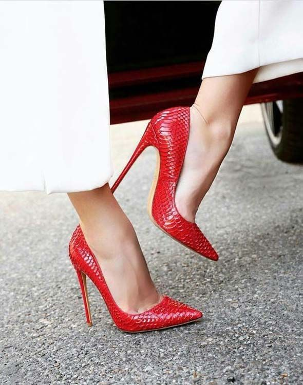 Classic Women Sexy Stilleto Office High Heels Pumps Shoes on Stylevo