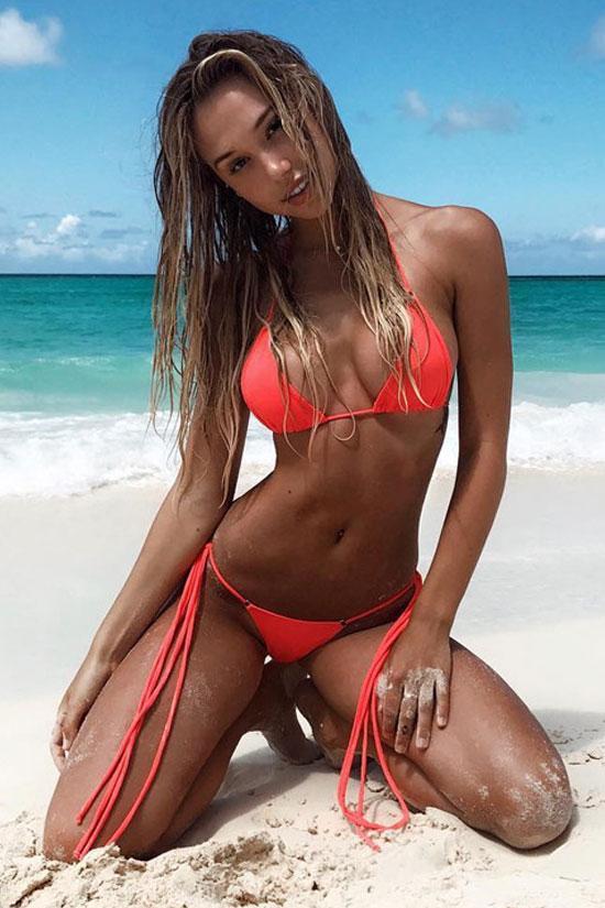 Sexy Micro Triangle Bikini Swimsuit - Two Piece Set – Bikinis