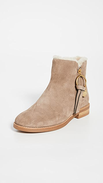 See by Chloe Louise Flat Shearling Boots | SHOPBOP | Use Code .