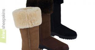 Musketeer Sheepskin Boots - Sheepskin Boots | Kiwi Sheepski