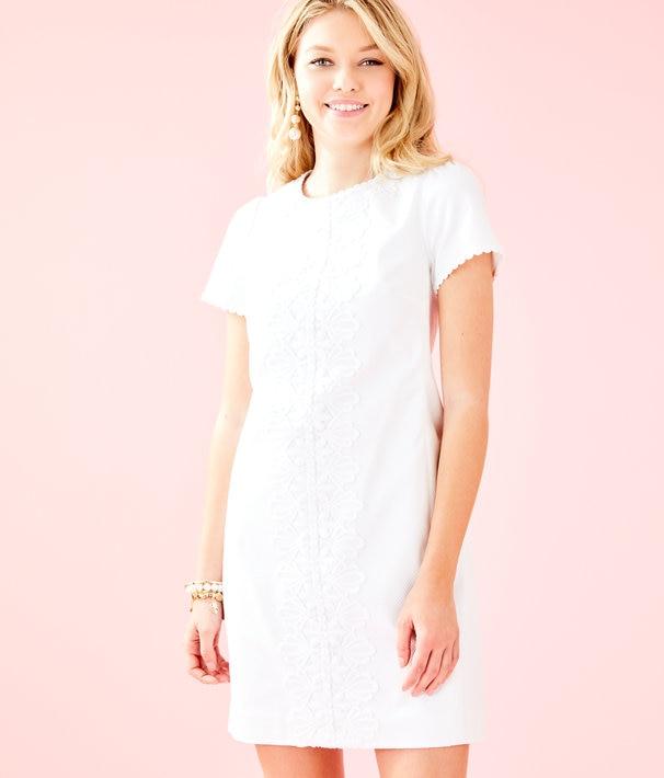 Maisie Stretch Shift Dress | Lilly Pulitz