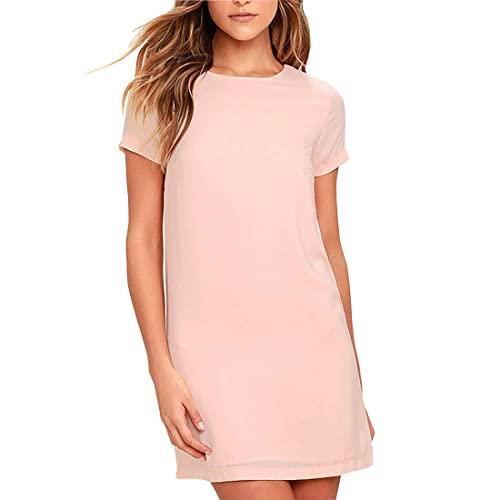 Pink Shift Dress: Amazon.c