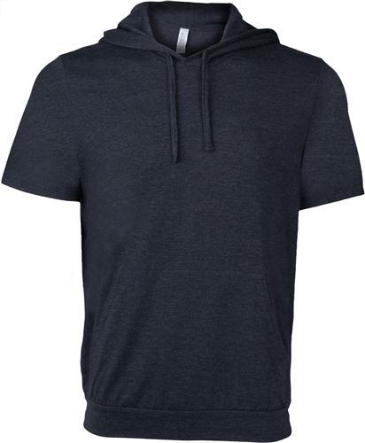 Unisex Bella+Canvas Jersey Short Sleeve Hoodie | Sweatshirts .