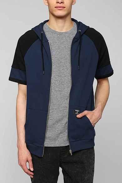 Short-Sleeve Zip-Up Hoodie Sweatshirt | Sweatshirts hoodie .