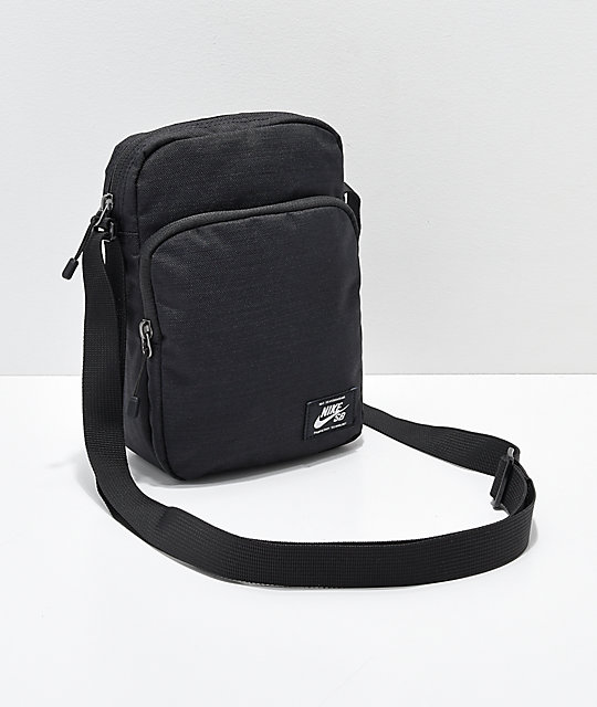 Nike SB Heritage Black & White Shoulder Bag | Zumi