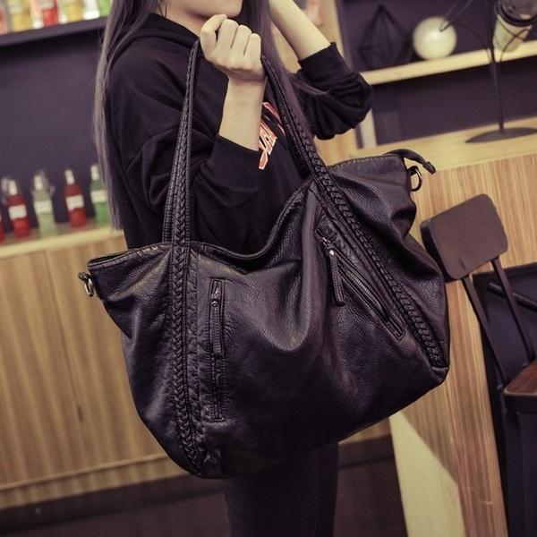 Large Soft Leather Bag Women Handbags Ladies Crossbody Bags For .