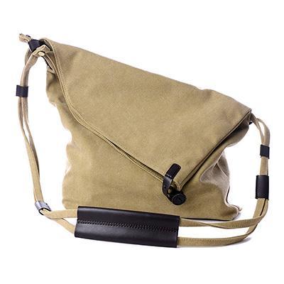 Bags - Women Canvas Messenger Bag Real Leather Vintage Shoulder .