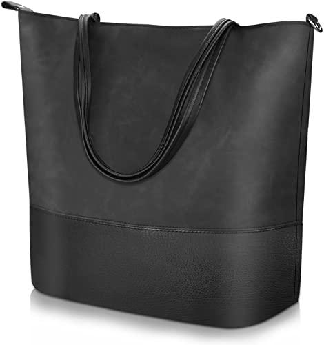 Amazon.com: Vintage Style Shoulder Bag for Women, Soft Leather Bag .