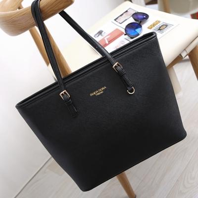 Women's Zipper PU Leather Tote Shoulder Bag - STYLESIMO.c