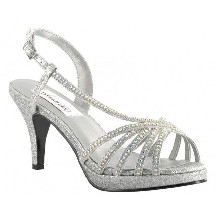 Complete your footwear collection with a pair of silver shoes .