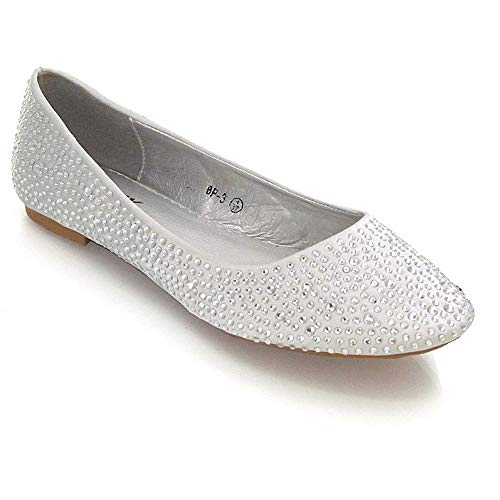 Flat Shoes Silver : Shoes Outlet | New Collection Online .