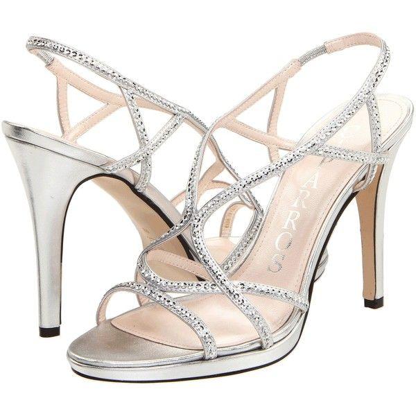 Caparros Zarielle Women's Dress Sandals found on Polyvore | Silver .