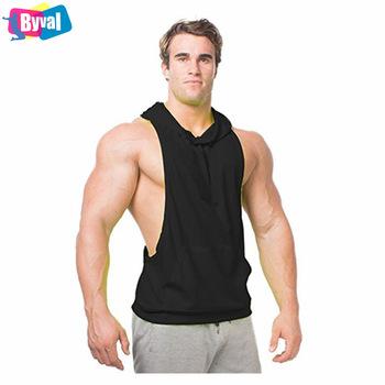 Sleeveless Hoodie Fitness Mens Drop Arm Sleeveless Hoodies Fitness .